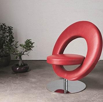 Atollo Leather Chair
