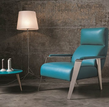 Blade Leather Armchair