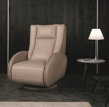 Mizar Leather Armchair