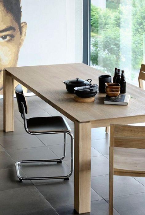 Oak Slice Dining Table Legs 10 X 10 Dimensions 150cm X 150cm X 77cm 160cm X 90cm X 77cm 180cm X 90cm X 77cm 200cm X 100cm X 77cm 220cm X 100cm
