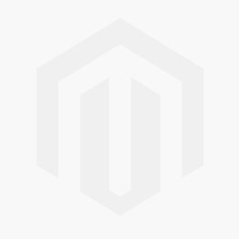 Rose Gold Hanging Hoop Earrings With Turquoise CZ & Curved Bar