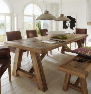 Firenze Rustic Oak dining table