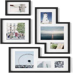 Mingle Gallery Frames Set of 4 - Black