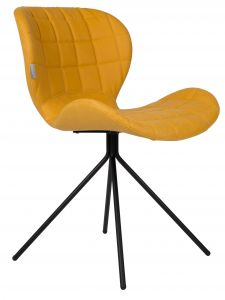 OMG Leather Chair - Yellow
