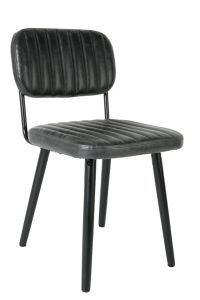 Jake Chair - Worn Black