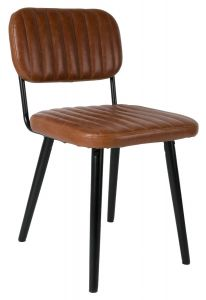 Jake Chair - Worn Brown