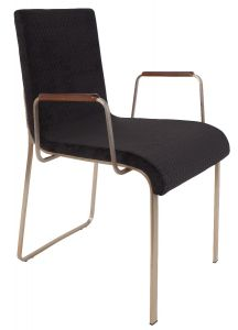Flor Armchair Black