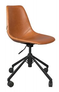 Franky Office Chair - Brown