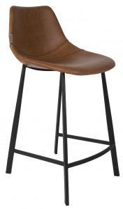 COUNTER STOOL FRANKY - BROWN