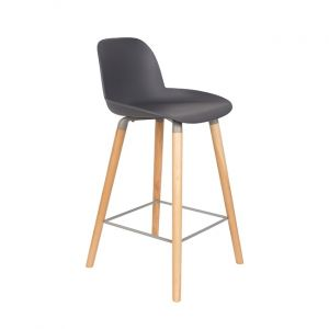 COUNTER STOOL ALBERT KUIP - DARK GREY