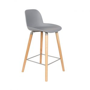 COUNTER STOOL ALBERT KUIP - LIGHT GREY
