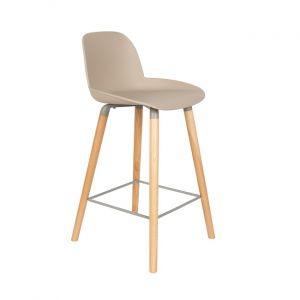 COUNTER STOOL ALBERT KUIP - TAUPE