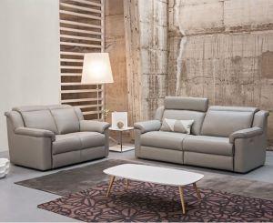 Gamma Leather Sofa