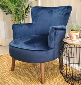 Violet Chair Navy
