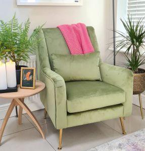 Phoebe Chair Green