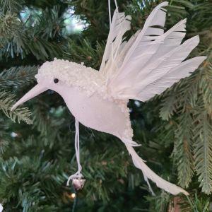Hummingbird - White