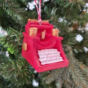 Typewriter Decoration - individual