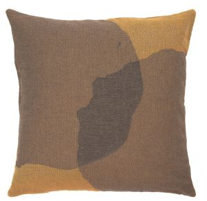 Overlapping Dots Cushion - Square