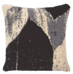 Nero Chevron Cushion - Square