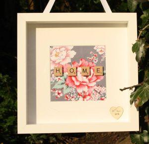 Home Scrabble Frame