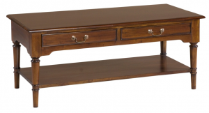 Bordeaux Coffee Table with Shelf