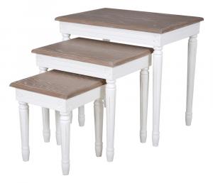 Helena White Nest Of Tables