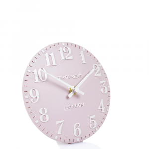 Arabic Mantel Clock Dusty Pink 6 in