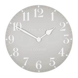 Arabic Wall Clock Dove Grey 20 in