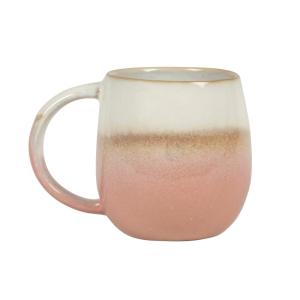 Dip Glazed Ombre Mug Pink