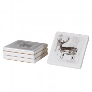 Deer Coaster set of 4