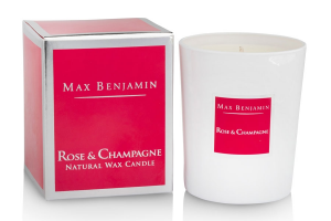 Rose & Champagne Candle