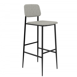 DC Bar Stool Light Grey