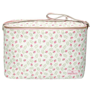 Cooler Bag One Handle Lily Petit White
