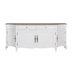 Sofia 4 Door Sideboard Oak Antique