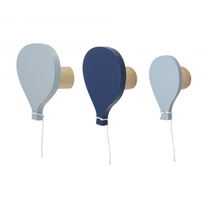 Hook Baloon Blue MDF P/3