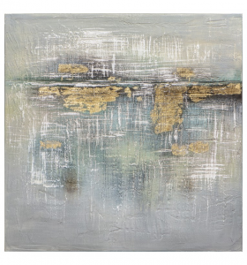 Mercury Horizon Textured Art Canvas