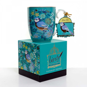 Single Birdy Mug - Blue Tit