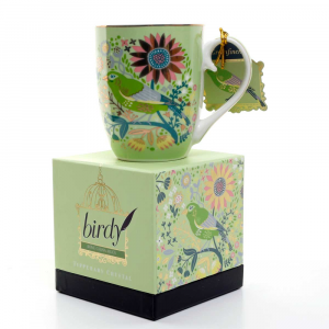 Single Birdy Mug - Greenfinch