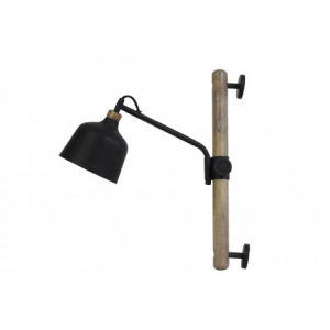 Wall Lamp Banu Wood Black