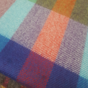 Scarf Merino Wool Multi Colour 30x180