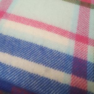 Scarf Merino Wool Blue/Green/Pink 30x180