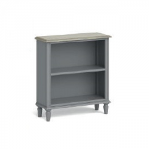 Marseille Low Bookcase Grey