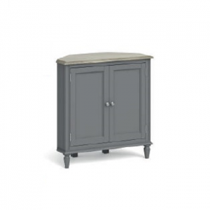 Marseille Corner Cupboard Grey