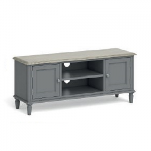 Marseille Large TV Unit Grey