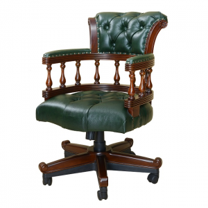Bordeaux Captains Chair Green