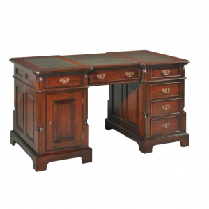 Bordeaux Partners Desk 160 Burgundy