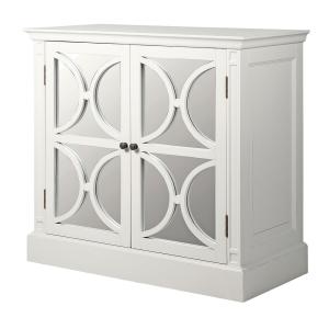 White Farence 2 Door Cupboard