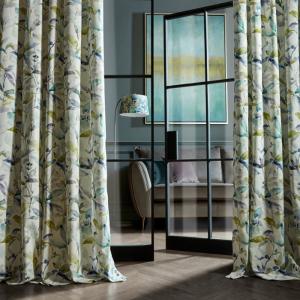 Naura Lemon Curtains 90 x 90
