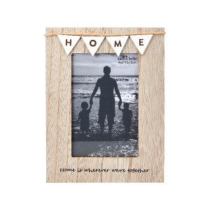 Vintage Bunting Home Photo Frame