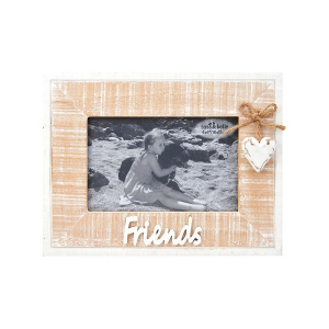 Rustic Heart Friends Frame